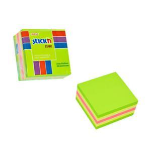 Karteczki samop. STICK'N 51x51 250k. - mix zielon. - 2847297732