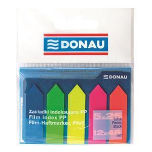 Zakładki indeksujące DONAU 7556001PL-99 strzałki - 2847297771