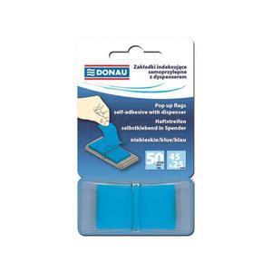 Zakładki indeksujące DONAU 7558001PL-01 niebieskie - 2847297773