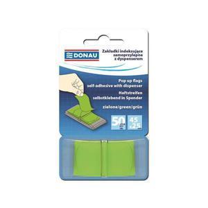 Zakładki indeksujące DONAU 7558001PL-02 zielone - 2847297774