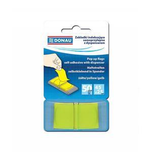 Zakładki indeksujące DONAU 7558001PL-06 żółte - 2847297775
