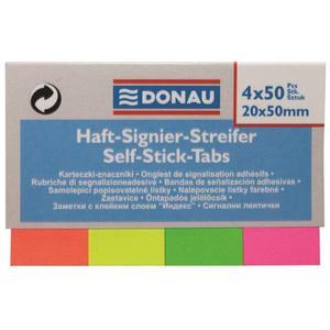 Zakładki indeksujące DONAU 50x20mm 50 kartek - 2847297782