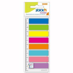 Zakładki STICK'N 21345 (paski + linijka) - 2847297812