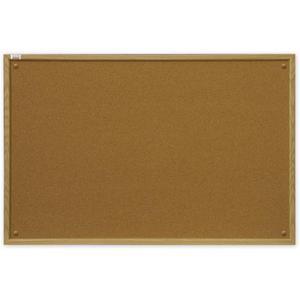 Tablica korkowa 2x3 drewno 90x60cm - 2847297898
