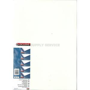 Okładki do bindowania OPUS Exclusive A3 - białe - 2847298508