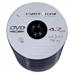Płyta DVD-R ESPERANZA s-100 op.100 - 2847299766