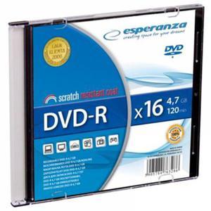Płyta DVD-R ESPERANZA slim 1 szt. - 2847299770