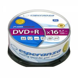 Płyta DVD+R ESPERANZA Cake op.25szt. - 2847299773