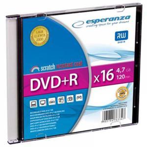 Płyta DVD+R ESPERANZA slim 1szt. - 2847299774