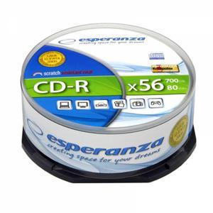Płyta CD-R ESPERANZA Cake op.25szt. - 2847299776