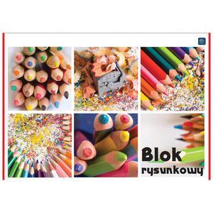 Blok rysunkowy INTERDRUK A4 biały - 2847300501