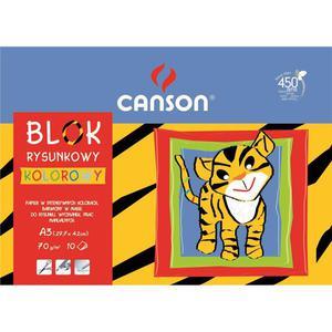 Blok rysunkowy CANSON A3 kolorowy - 2847300512