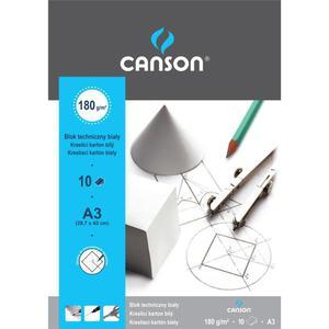 Blok techniczny CANSON A3 biały - 2847300514