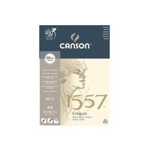 Blok szkicowy CANSON A4 120g. 50k. 1557 - 2847300529