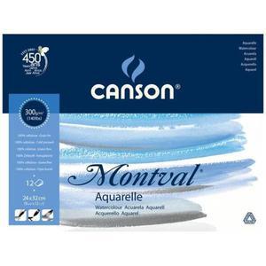 Blok do akwareli CANSON Mont-Torch 24x32 300g. - 2847300537