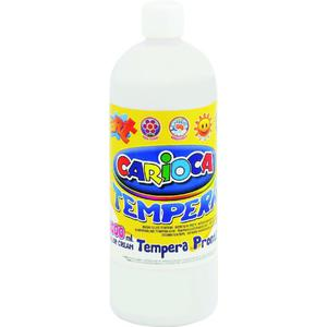 Farba CARIOCA tempera 1L. - biała K003/1 - 2847300636