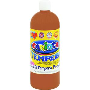 Farba CARIOCA tempera 1L. - j.brąz K003/20 - 2847300639