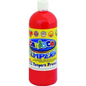 Farba CARIOCA tempera 1L. - czerwona K003/08 - 2847300641