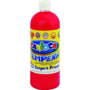 Farba CARIOCA tempera 1L. - c.czerwona K003/10 - 2847300642