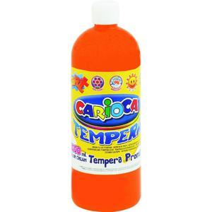 Farba CARIOCA tempera 1L. - pomarańcz K003/05 - 2847300647