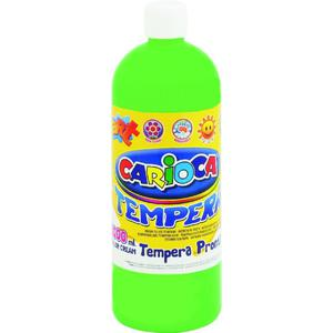 Farba CARIOCA tempera 1L. - j.zielony K003/11 - 2847300649