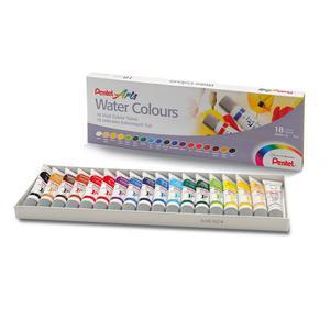 Farba akwarelowa PENTEL WFRS-24 24 kolory - 2847300674