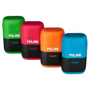 Temperówka MILAN + gumka do ścier. Compact Touch - 2847301777