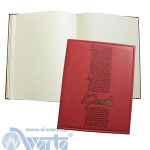 Kronika WARTA A4 pion - szyta mix kolorów - 2847301952