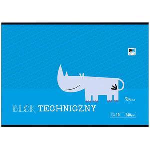 Blok techniczny INTERDRUK A4 BB Kids - kolorowy - 2847302359