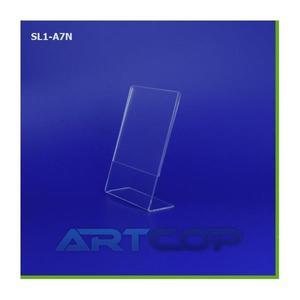 Stojak na ulotki ArtC A7 TYP-L błysk SL1-A7N - 2847302383