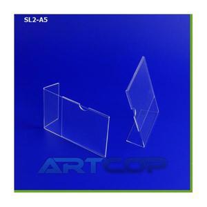 Stojak na ulotki ArtC A5 TYP-L błysk SL2-A5 - 2847302384