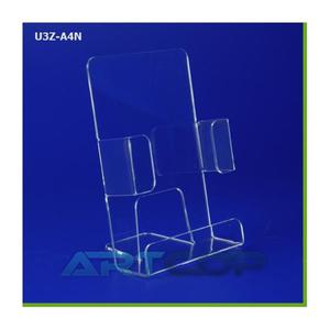 Stojak na ulotki ArtC A4 zamk. boki pion U3Z-A4N - 2847302385