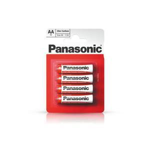 Bateria PANASONIC AA op.4 - czerwone - 2847302542