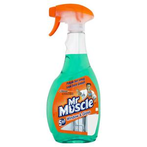 Płyn do mycia szyb Mr. Muscle 500ml. - zielony - 2847303026