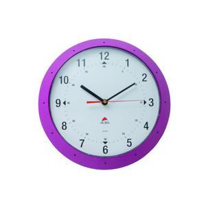 Zegar ścienny ALBA Hormur - różowy - 2861970677