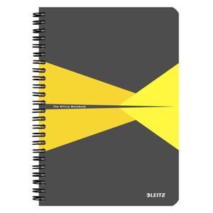 Kołonotatnik LEITZ Office PP A5 w linie żółty - 2861971143