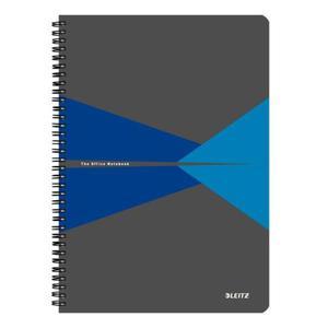 Kołonotatnik LEITZ Office PP A4 w kratkę niebieski - 2861971150