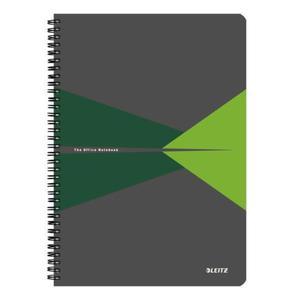 Kołonotatnik LEITZ Office PP A4 w kratkę zielony - 2861971151