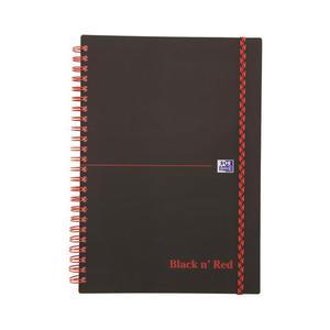 Kołonotatnik OXFORD Black n'Red A4 70k. kratka - 2861971181