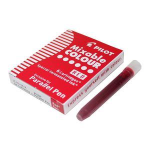Naboje do piór PILOT Parallel Pen - czerwone - 2861972383