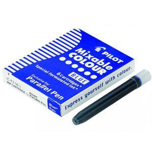 Naboje do piór PILOT Parallel Pen - niebieski - 2861972384