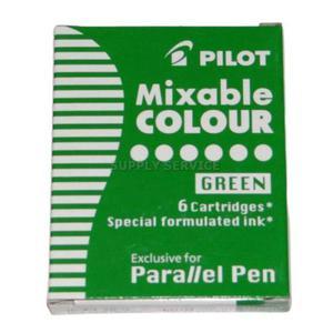 Naboje do piór PILOT Parallel Pen - zielone - 2861972385
