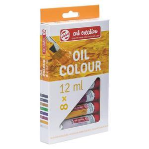 Zestaw farb TALENS OIL SET 8x12ml - 2861972406