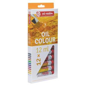 Zestaw farb TALENS OIL SET 12x12ml - 2861972407