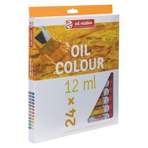 Zestaw farb TALENS OIL SET 24x12ml - 2861972408