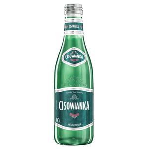 Woda CISOWIANKA op.24 Perlage szkło 300ml n/gaz - 2861972516