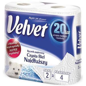 Ręcznik kuchenny VELVET Najdłuższy op.2 rolki - 2861972828