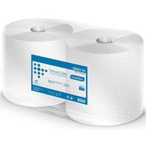 Ręcznik czyściwo VELVET Care 1000 listków 250m op2 - 2861972835
