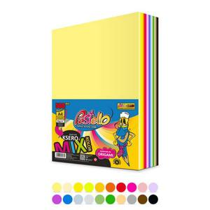 Papier xero kolor PASTELLO A4 80g mix 20kol op.500 - 2874810070