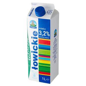 Mleko ŁOWICKIE 1l. 3,2% op.12 - 2874810143